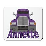 Trucker Annette Mousepad