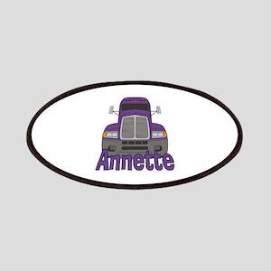 Trucker Annette Patches