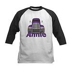 Trucker Annie Kids Baseball Jersey