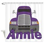 Trucker Annie Shower Curtain