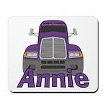 Trucker Annie Mousepad
