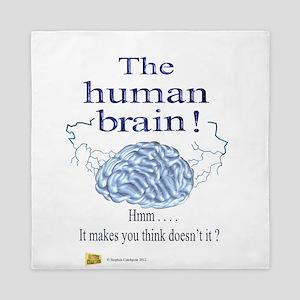 The human brain Queen Duvet
