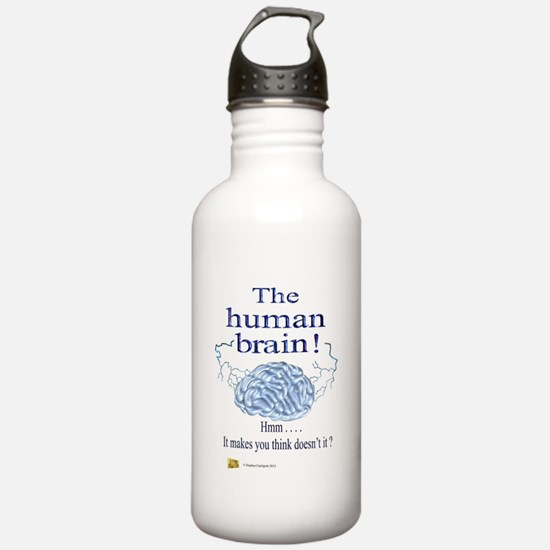 The human brain Water Bottle