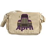 Trucker April Messenger Bag