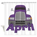 Trucker April Shower Curtain