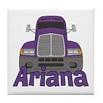 Trucker Ariana Tile Coaster