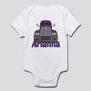 Trucker Arianna Infant Bodysuit