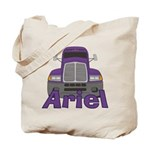 Trucker Ariel Tote Bag