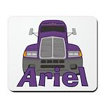 Trucker Ariel Mousepad