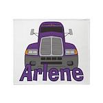 Trucker Arlene Throw Blanket