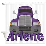 Trucker Arlene Shower Curtain
