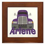 Trucker Arlene Framed Tile