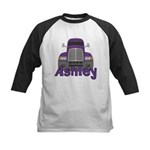 Trucker Ashley Kids Baseball Jersey