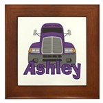 Trucker Ashley Framed Tile