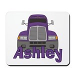 Trucker Ashley Mousepad