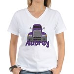 Trucker Aubrey Women's V-Neck T-Shirt