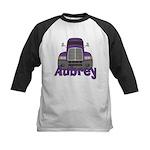 Trucker Aubrey Kids Baseball Jersey