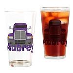 Trucker Aubrey Drinking Glass
