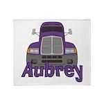 Trucker Aubrey Throw Blanket