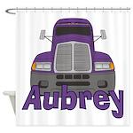Trucker Aubrey Shower Curtain