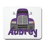 Trucker Aubrey Mousepad