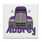 Trucker Aubrey Tile Coaster