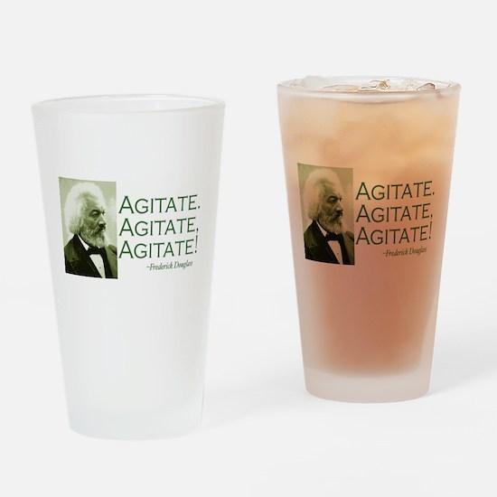 Agitate Drinking Glass