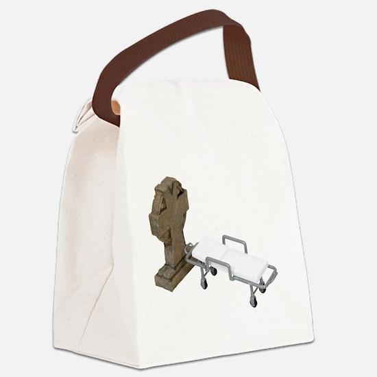 EndToDisease090409.png Canvas Lunch Bag