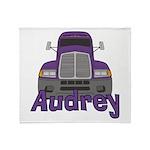 Trucker Audrey Throw Blanket