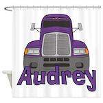 Trucker Audrey Shower Curtain