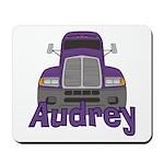 Trucker Audrey Mousepad