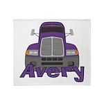 Trucker Avery Throw Blanket