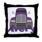Trucker Avery Throw Pillow
