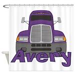 Trucker Avery Shower Curtain