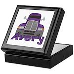 Trucker Avery Keepsake Box