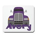 Trucker Avery Mousepad
