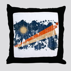 Marshall Islands Flag Throw Pillow