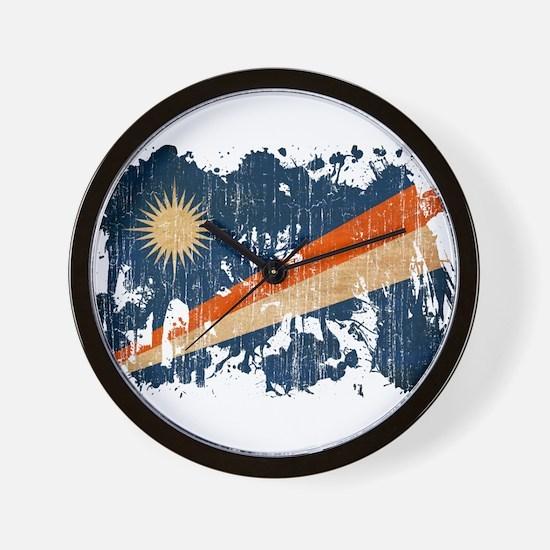 Marshall Islands Flag Wall Clock