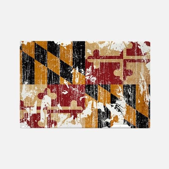 Maryland Flag Rectangle Magnet