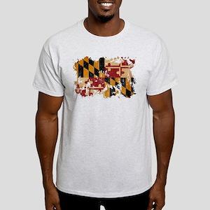 Maryland Flag Light T-Shirt