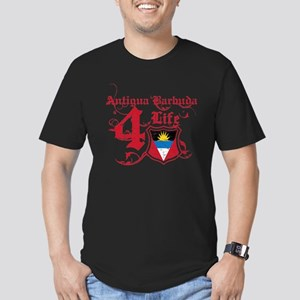 Antigua Barbuda for life designs Men's Fitted T-Sh