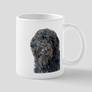 Black Labradoodle Pokey Mug