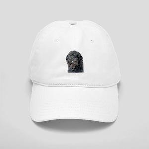 Black Labradoodle Pokey Cap