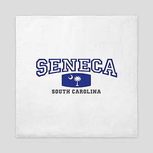 Seneca South Carolina, SC, Palmetto State Flag Que
