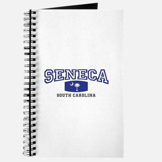 Seneca South Carolina, SC, Palmetto State Flag Jou