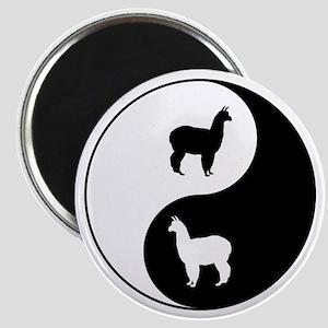 Yin Yang Alpaca Magnets