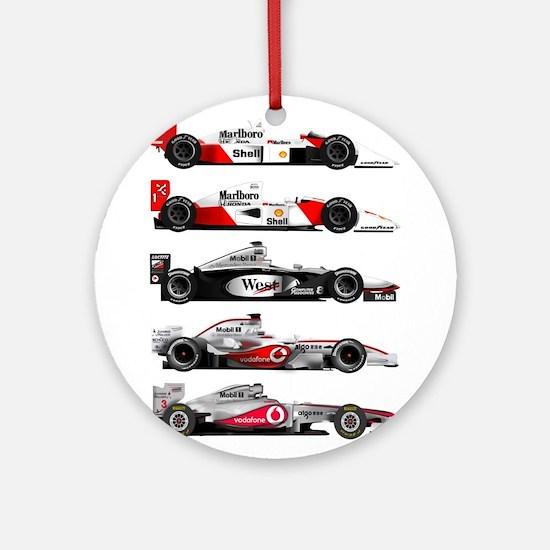 F1 grid.jpg Ornament (Round)