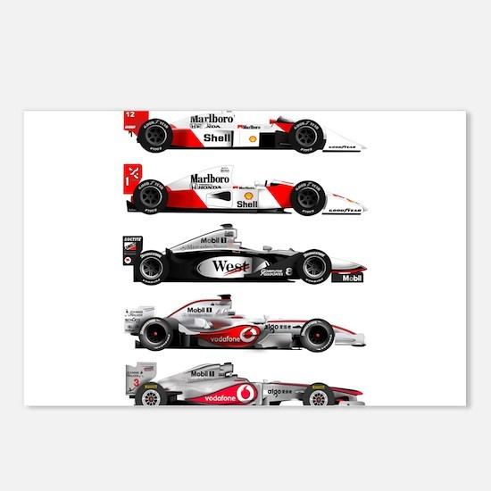 F1 grid.jpg Postcards (Package of 8)