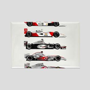 F1 grid Rectangle Magnet