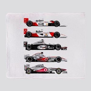 F1 grid Throw Blanket